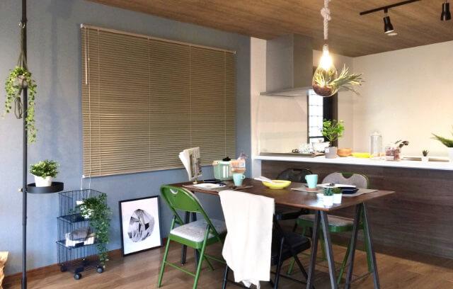 モデルハウスでの家具レンタル&コーディネートプラン事例写真